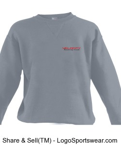 Team Velocity Russell Youth Crewneck Sweatshirt Design Zoom