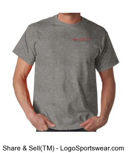 Team Velocity Gildan  Cotton Adult T-shirt Design Zoom